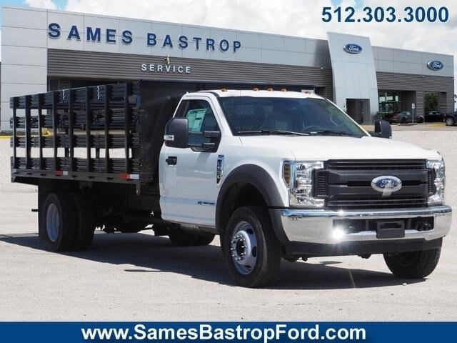 Sames Ford Bastrop >> 2019 F 550 Regular Cab Drw 4x2 Reading Steel Stake Bed Stock Kda04441