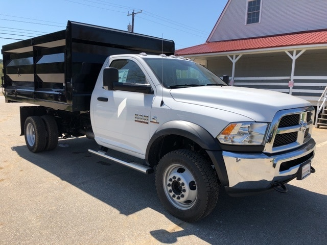 2018 Ram 5500 Regular Cab DRW 4x4,  Rugby Landscape Dump #CT18454 - photo 3