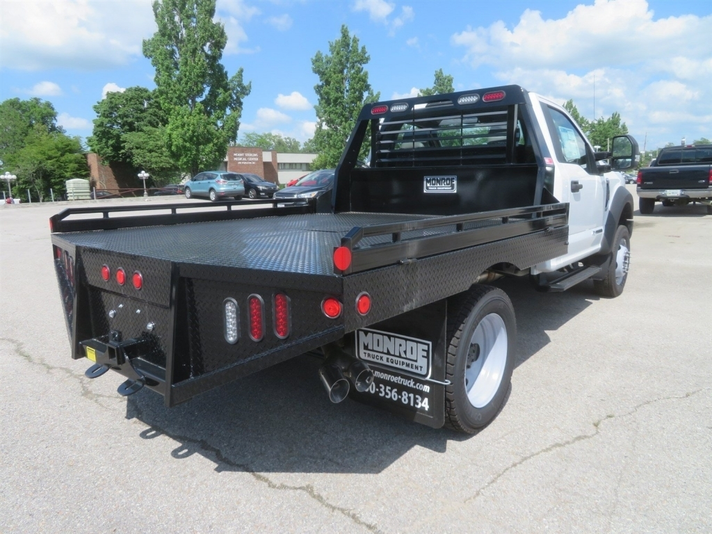 2018 F-450 Regular Cab DRW 4x4,  Hillsboro Platform Body #F8258 - photo 2