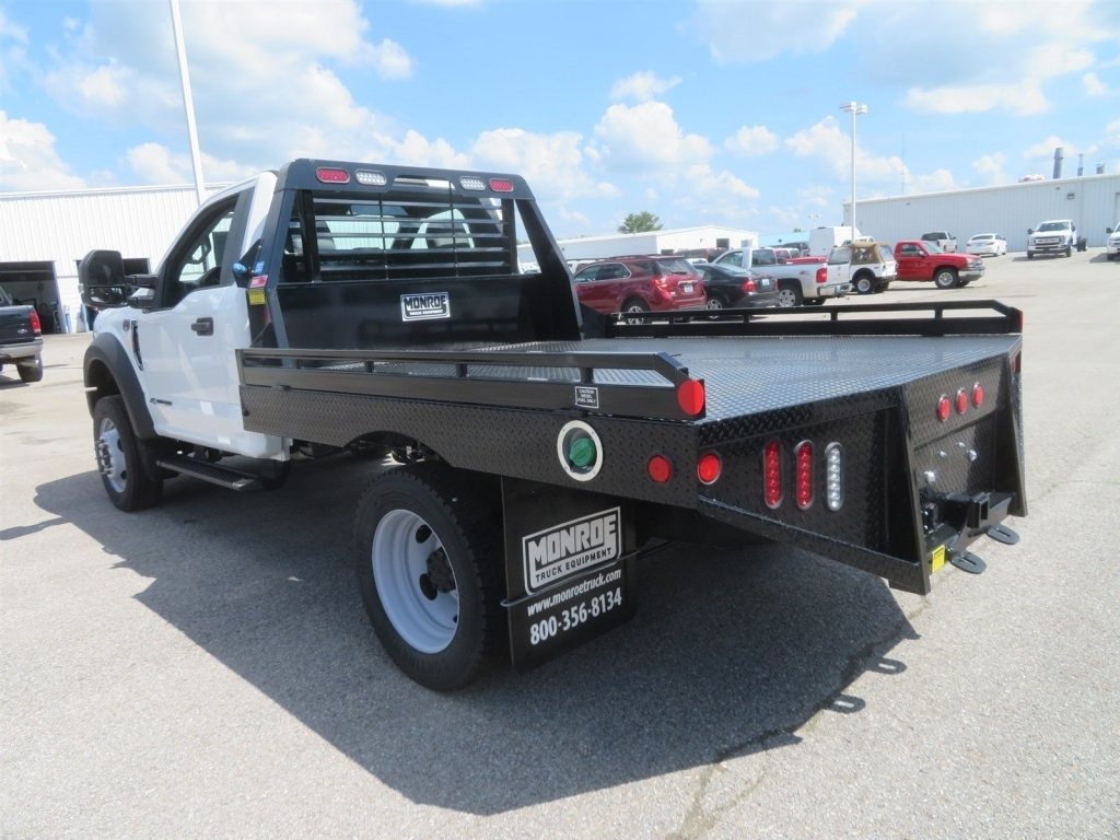 2018 F-450 Regular Cab DRW 4x4,  Hillsboro Platform Body #F8258 - photo 4