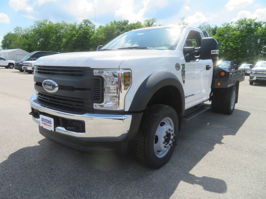 2018 F-450 Regular Cab DRW 4x4,  Hillsboro Platform Body #F8258 - photo 5
