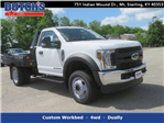 2018 F-450 Regular Cab DRW 4x4,  Hillsboro Platform Body #F8258 - photo 1
