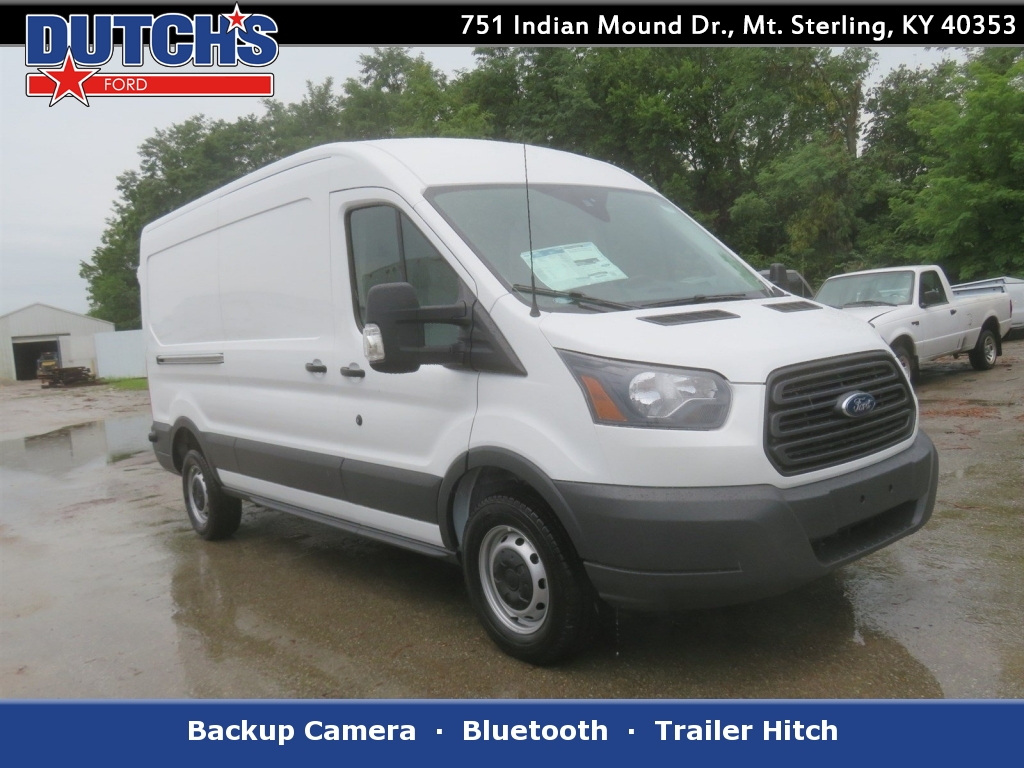 2018 Transit 250 Med Roof 4x2,  Empty Cargo Van #F8299 - photo 1