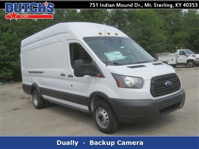 2018 Transit 350 HD High Roof DRW 4x2,  Empty Cargo Van #F8304 - photo 1