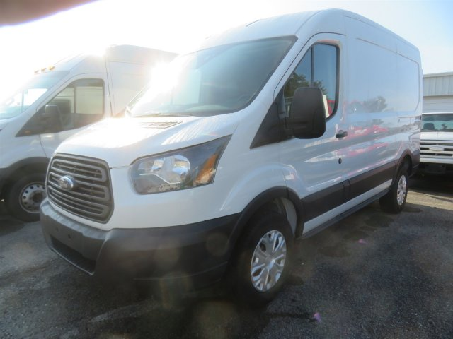 2018 Transit 250 Med Roof 4x2,  Empty Cargo Van #F8336 - photo 1