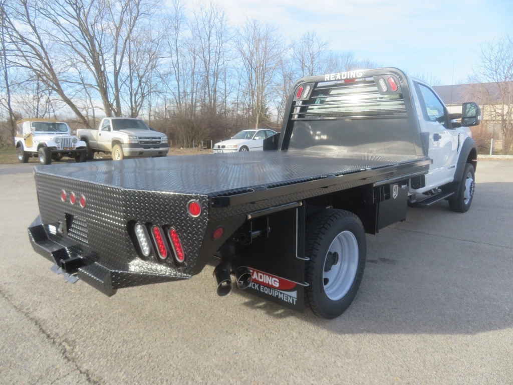 2019 F-450 Regular Cab DRW 4x4,  Norstar Platform Body #F8456 - photo 4