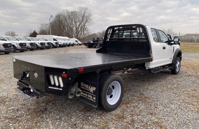 2019 Ford F-550 Super Cab DRW 4x4, CM Truck Beds Platform Body #F9062 - photo 1