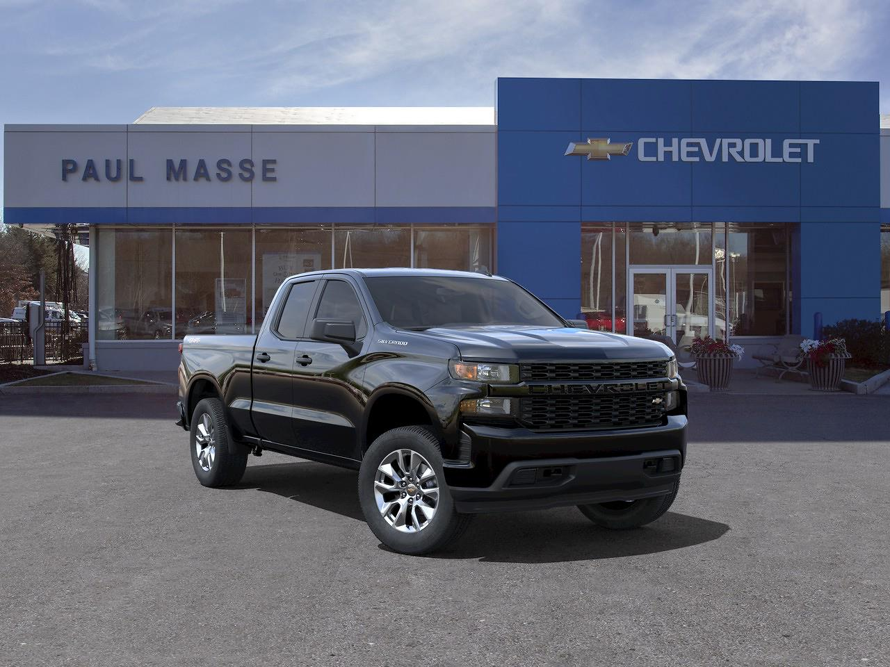 2021 Chevrolet Silverado 1500 Double Cab 4x4, Pickup #CK1392 - photo 1