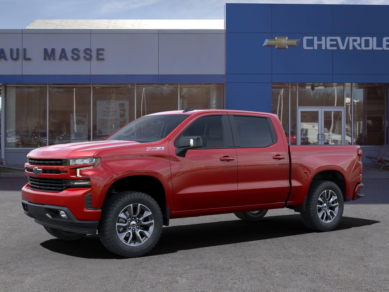 2021 Chevrolet Silverado 1500 Crew Cab 4x4, Pickup #CK1400 - photo 3