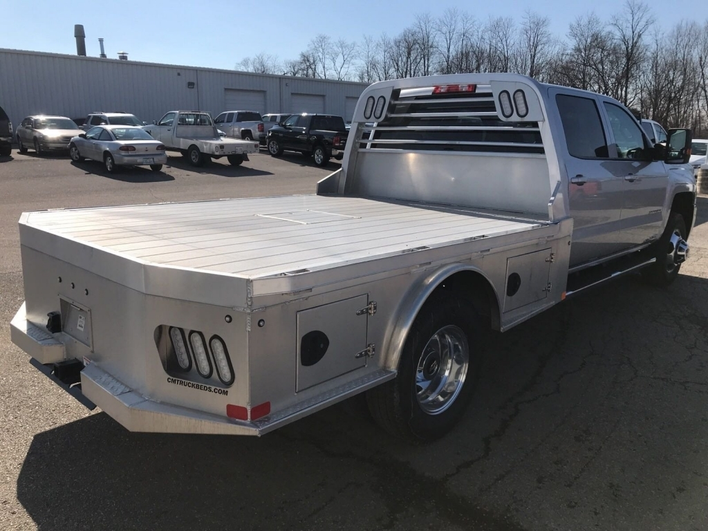 2018 Silverado 3500 Crew Cab 4x4,  CM Truck Beds Platform Body #C1647 - photo 4