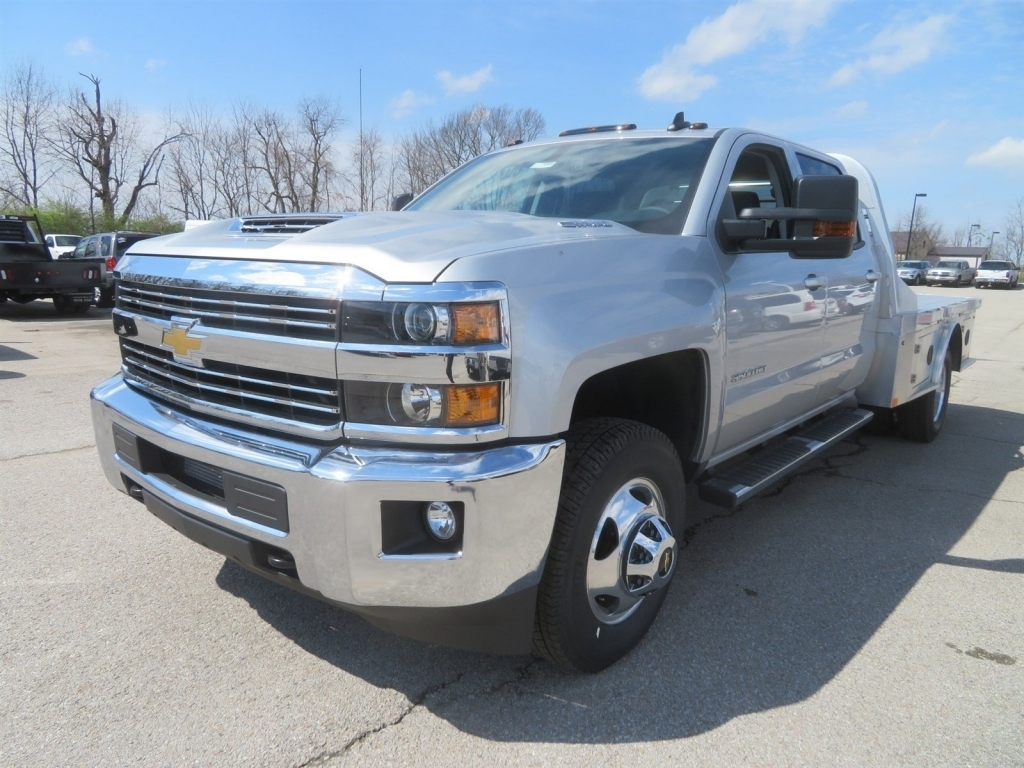 2018 Silverado 3500 Crew Cab 4x4,  CM Truck Beds Platform Body #C1648 - photo 5