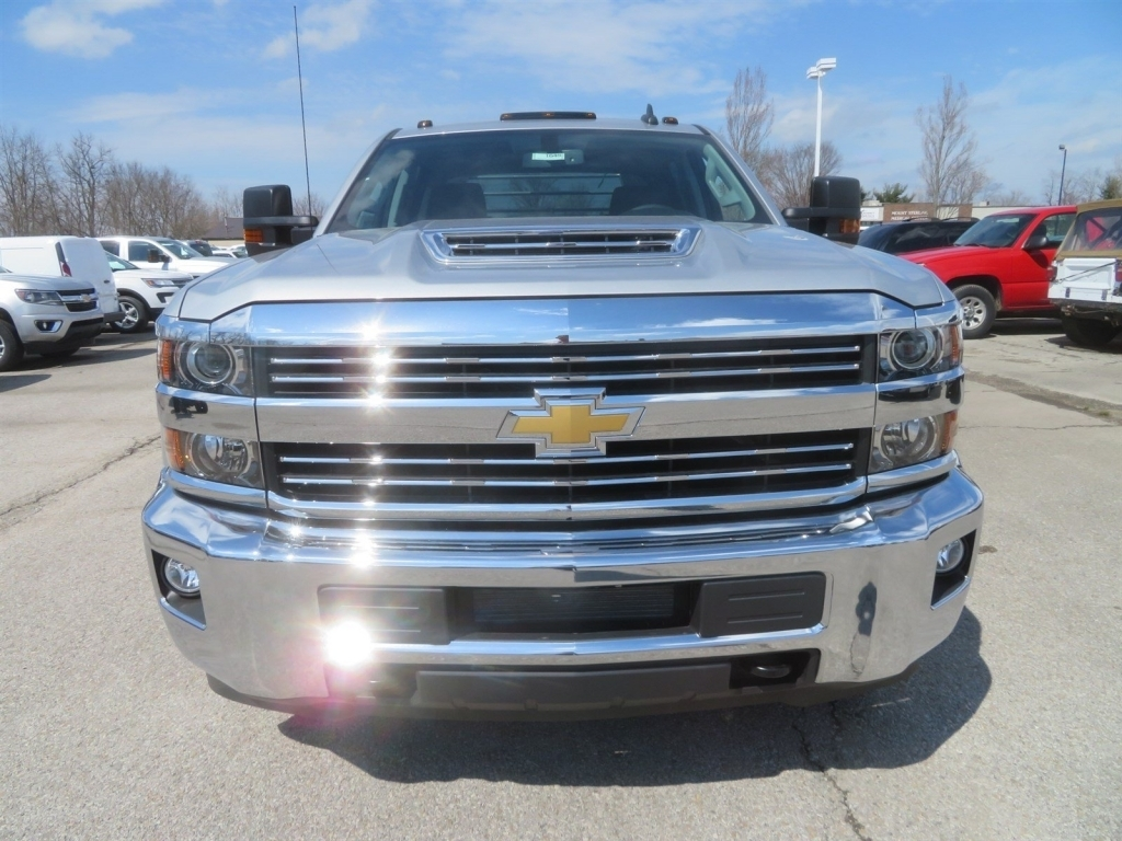 2018 Silverado 3500 Crew Cab 4x4,  CM Truck Beds Platform Body #C1648 - photo 6