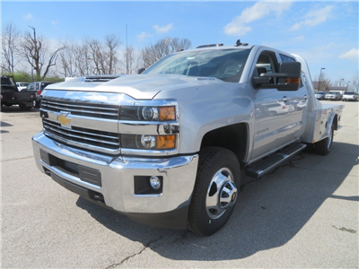 2018 Silverado 3500 Crew Cab 4x4,  CM Truck Beds AL SK Model Platform Body #C1648 - photo 5