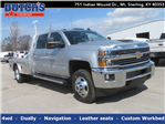 2018 Silverado 3500 Crew Cab 4x4,  CM Truck Beds AL SK Model Platform Body #C1648 - photo 1