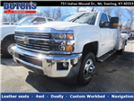 2018 Silverado 3500 Crew Cab 4x4,  CM Truck Beds Platform Body #C1672 - photo 1