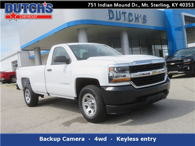 2018 Silverado 1500 Regular Cab 4x4,  Pickup #C1707 - photo 1
