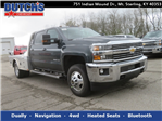2018 Silverado 3500 Crew Cab 4x4,  CM Truck Beds Platform Body #C1731 - photo 1