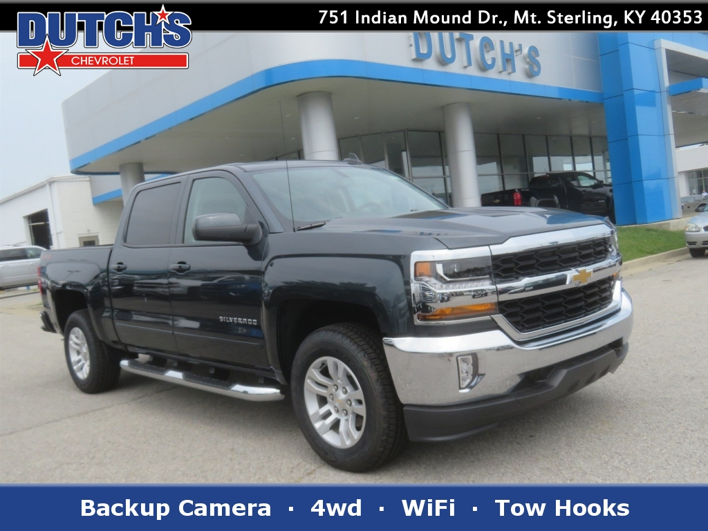 2018 Silverado 1500 Crew Cab 4x4,  Pickup #C1855 - photo 1