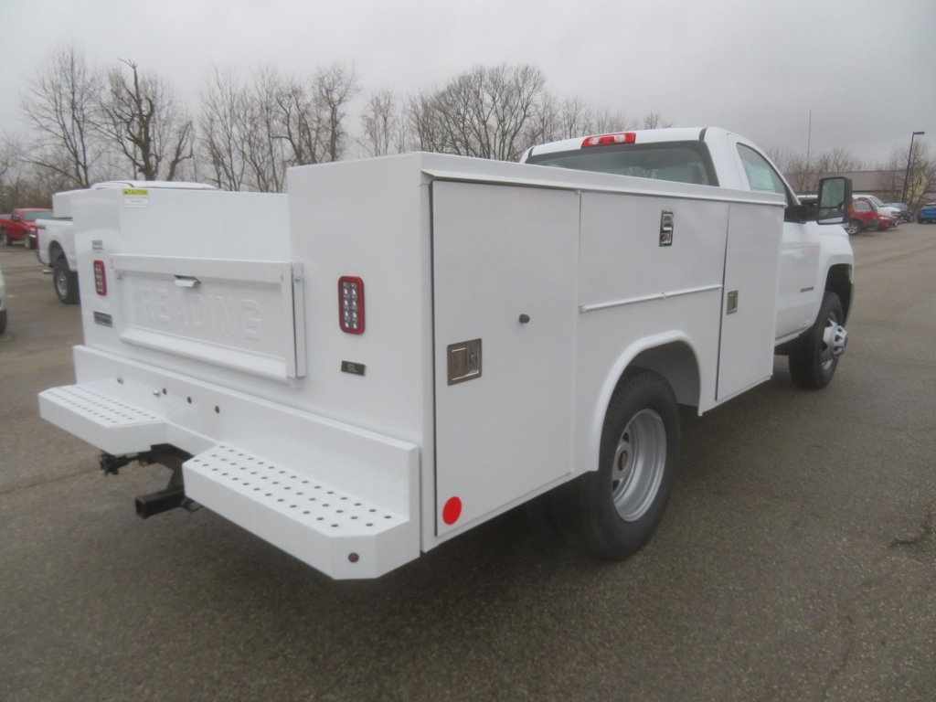 2019 Silverado 3500 Regular Cab 4x4,  Service Body #C1968 - photo 2