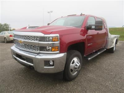 2019 Silverado 3500 Crew Cab 4x4,  CM Truck Beds AL SK Model Platform Body #C1972 - photo 4