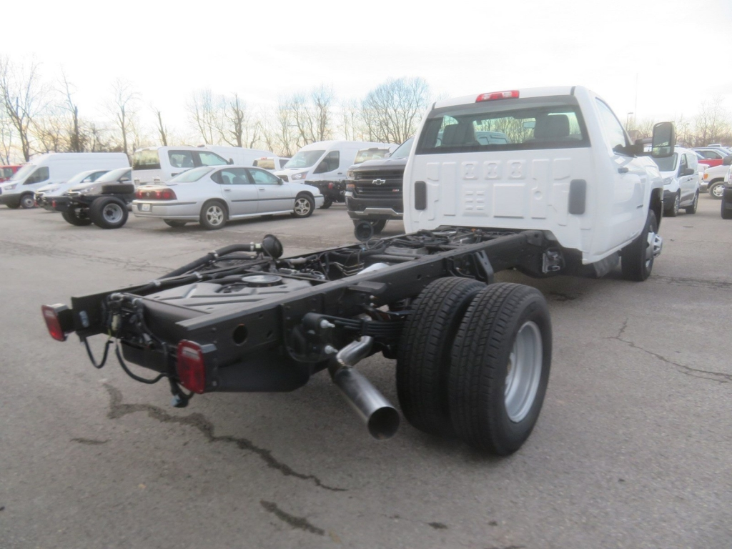 2019 Silverado 3500 Regular Cab DRW 4x4,  Cab Chassis #C2010 - photo 2