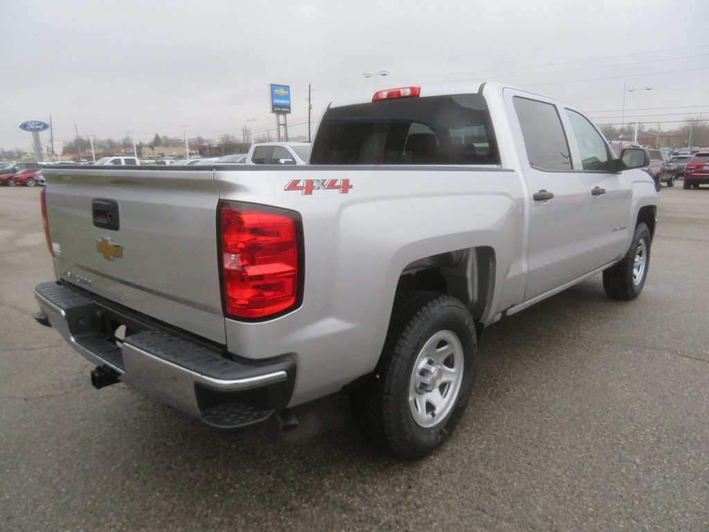 2018 Silverado 1500 Crew Cab 4x4,  Pickup #C2017 - photo 2