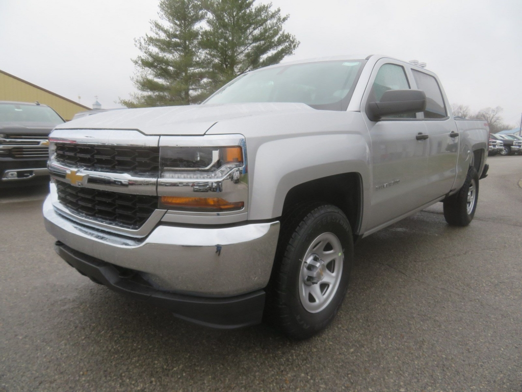 2018 Silverado 1500 Crew Cab 4x4,  Pickup #C2017 - photo 4