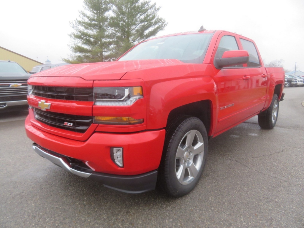 2018 Silverado 1500 Crew Cab 4x4,  Pickup #C2021 - photo 4