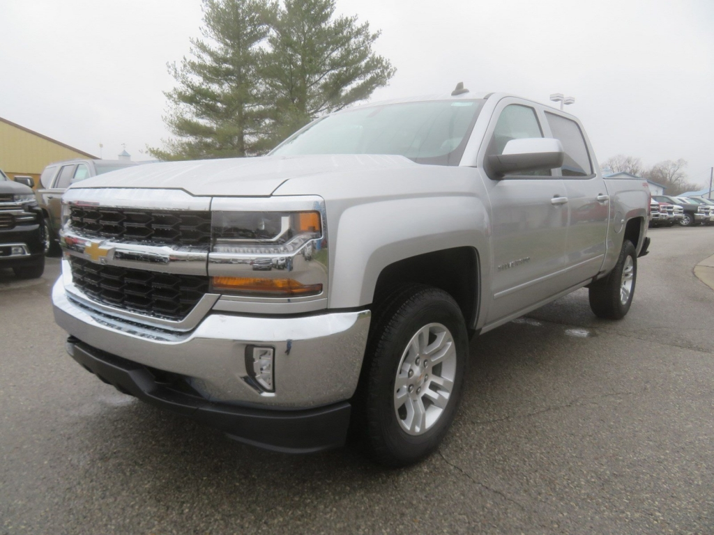 2018 Silverado 1500 Crew Cab 4x4,  Pickup #C2028 - photo 4