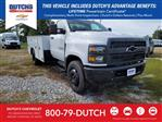 2019 Silverado Medium Duty Regular Cab DRW 4x2,  CM Truck Beds Service Body #C2743 - photo 1