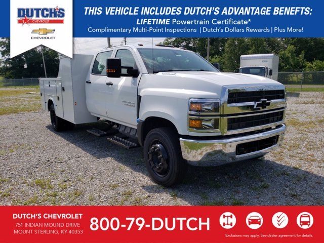 2020 Chevrolet Silverado Medium Duty Crew Cab DRW 4x2, Knapheide Service Body #C2786 - photo 1