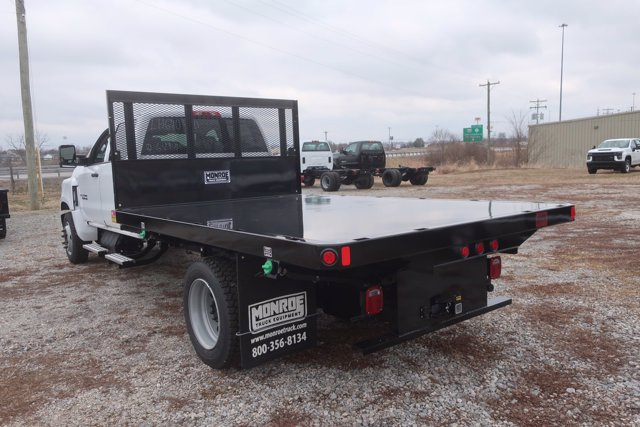 2020 Silverado Medium Duty Crew Cab DRW 4x2,  Monroe Truck Equipment Platform Body #C2896 - photo 6