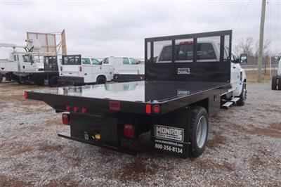2020 Silverado Medium Duty Crew Cab DRW 4x2,  Monroe Truck Equipment Platform Body #C2896 - photo 2
