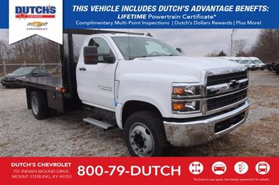 2020 Silverado Medium Duty Regular Cab DRW 4x2,  Monroe Truck Equipment Platform Body #C2937 - photo 1
