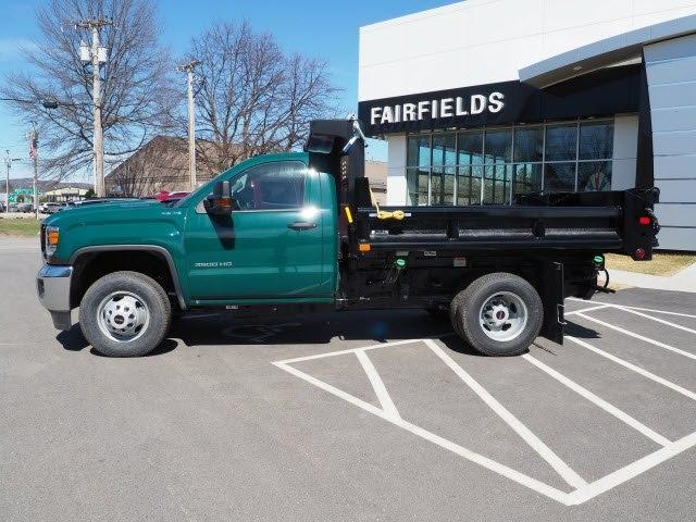 2019 Sierra 3500 Regular Cab DRW 4x4,  Air-Flo Pro-Class Dump Body #G19301 - photo 3