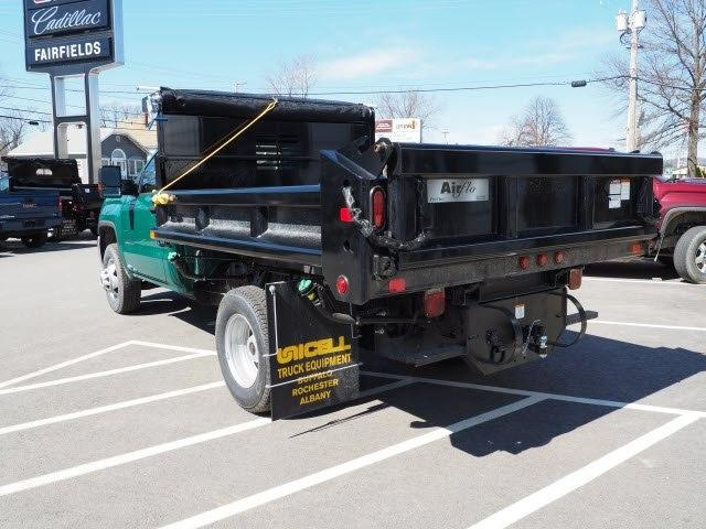 2019 Sierra 3500 Regular Cab DRW 4x4,  Air-Flo Pro-Class Dump Body #G19301 - photo 2