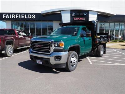 2019 Sierra 3500 Regular Cab DRW 4x4,  Air-Flo Pro-Class Dump Body #G19301 - photo 1