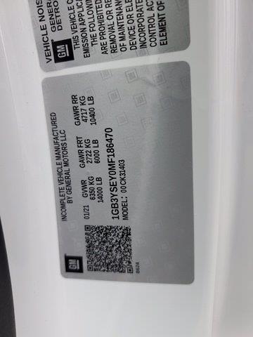 2021 Silverado 3500 Regular Cab 4x4,  Service Body #21WC168 - photo 14