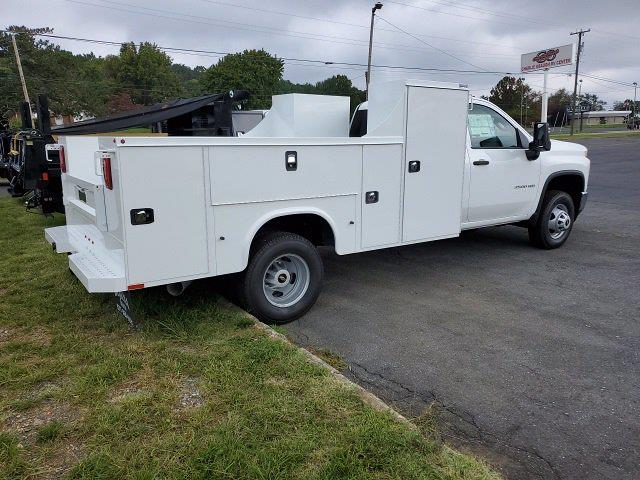 2021 Silverado 3500 Regular Cab 4x4,  Service Body #21WC168 - photo 2