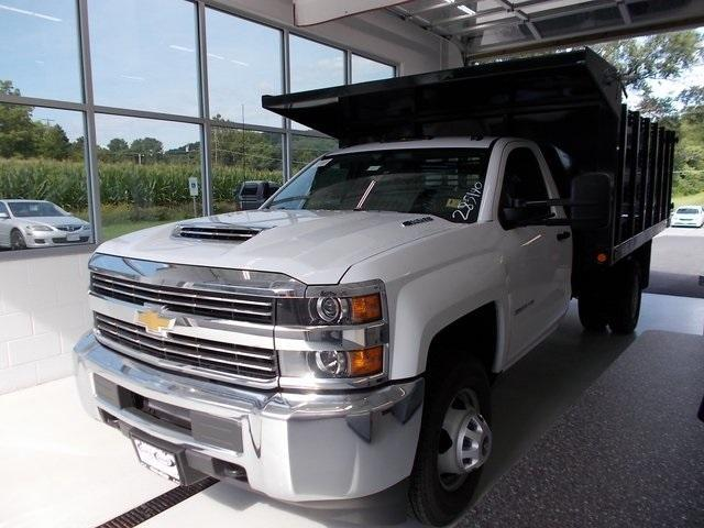 2018 Silverado 3500 Regular Cab,  Freedom Stake Bed #C18411 - photo 5