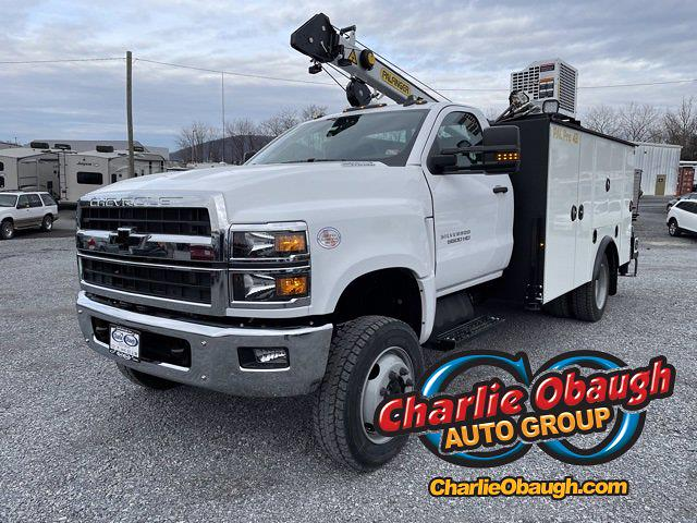 2020 Chevrolet Silverado 6500 Regular Cab DRW 4x4, Palfinger PAL Pro 43 Crane Body #WC2020127 - photo 1