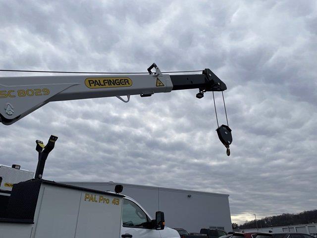 2020 Chevrolet Silverado 6500 Regular Cab DRW 4x4, Palfinger PAL Pro 43 Crane Body #WC2020127 - photo 10