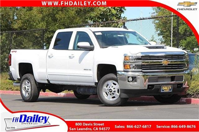 2018 Silverado 2500 Crew Cab 4x4,  Pickup #D2272 - photo 1