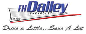 F.H. DAILEY CHEVROLET logo