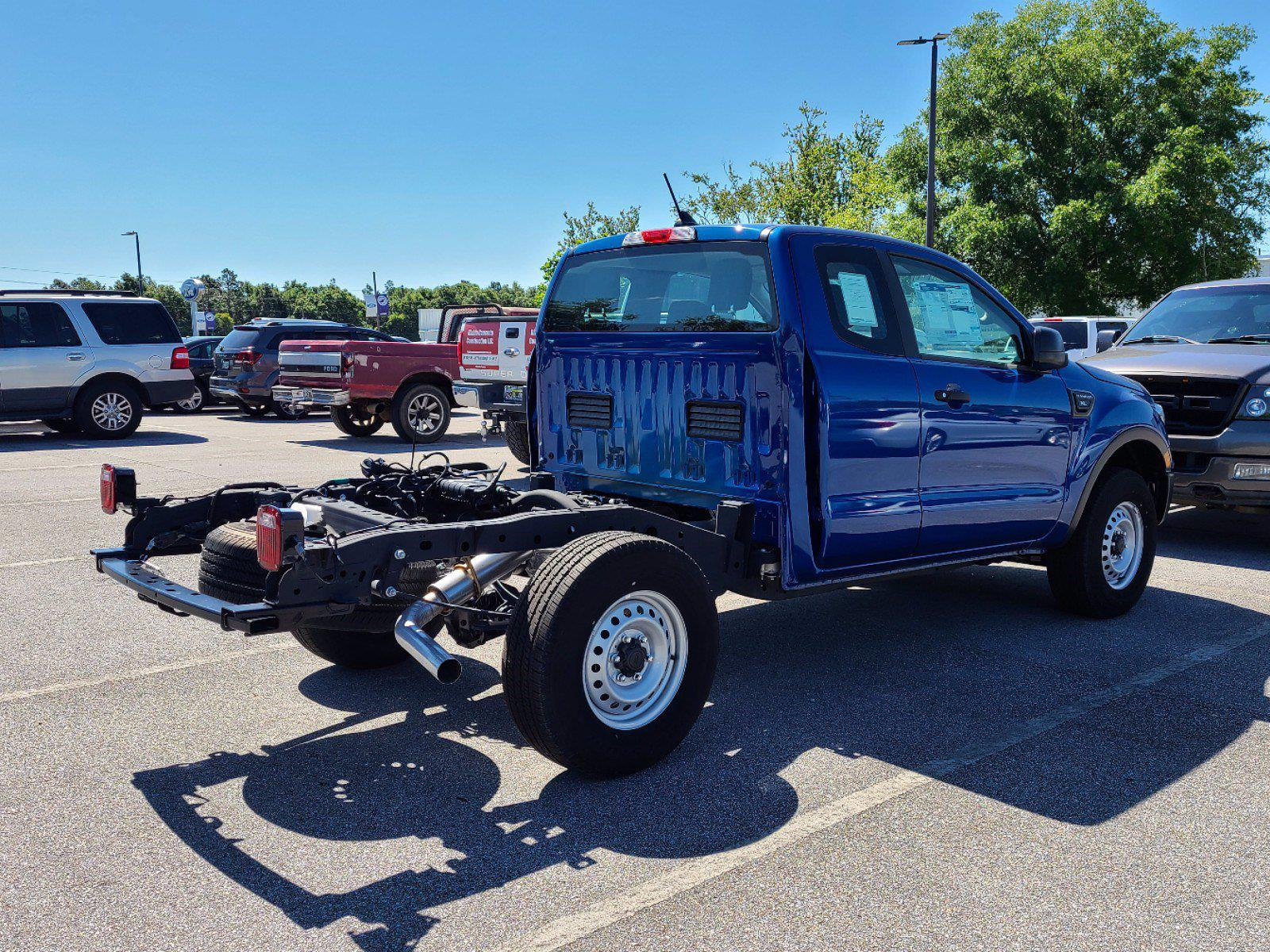 2020 Ford Ranger Super Cab 4x2, Cab Chassis #JLLA51571 - photo 1