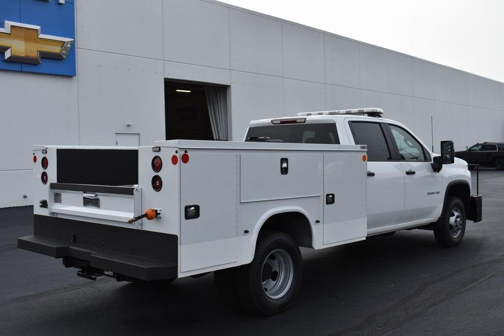 2020 Chevrolet Silverado 3500 Crew Cab DRW 4x4, Knapheide Service Body #T00804 - photo 1