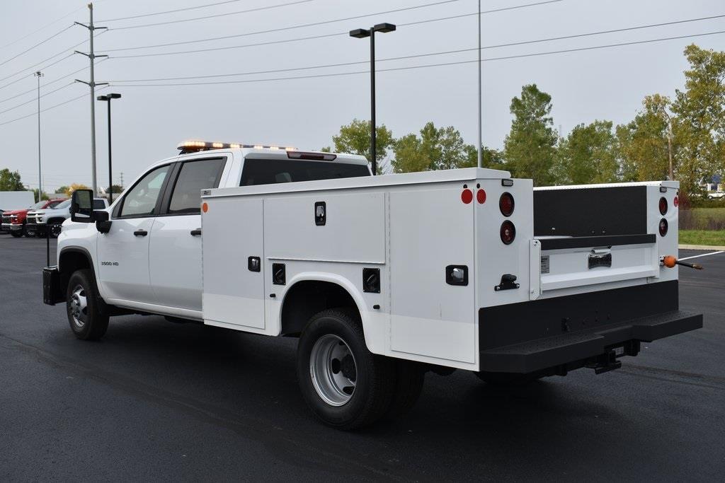 2020 Silverado 3500 Crew Cab DRW 4x4,  Knapheide Steel Service Body #T00804 - photo 5