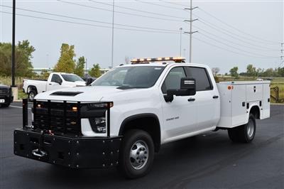 2020 Silverado 3500 Crew Cab DRW 4x4,  Knapheide Steel Service Body #T00804 - photo 7