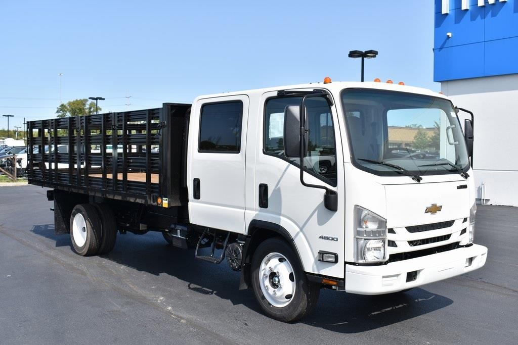 2020 Chevrolet LCF 4500 Crew Cab DRW 4x2, Cadet Stake Bed #T00906 - photo 1