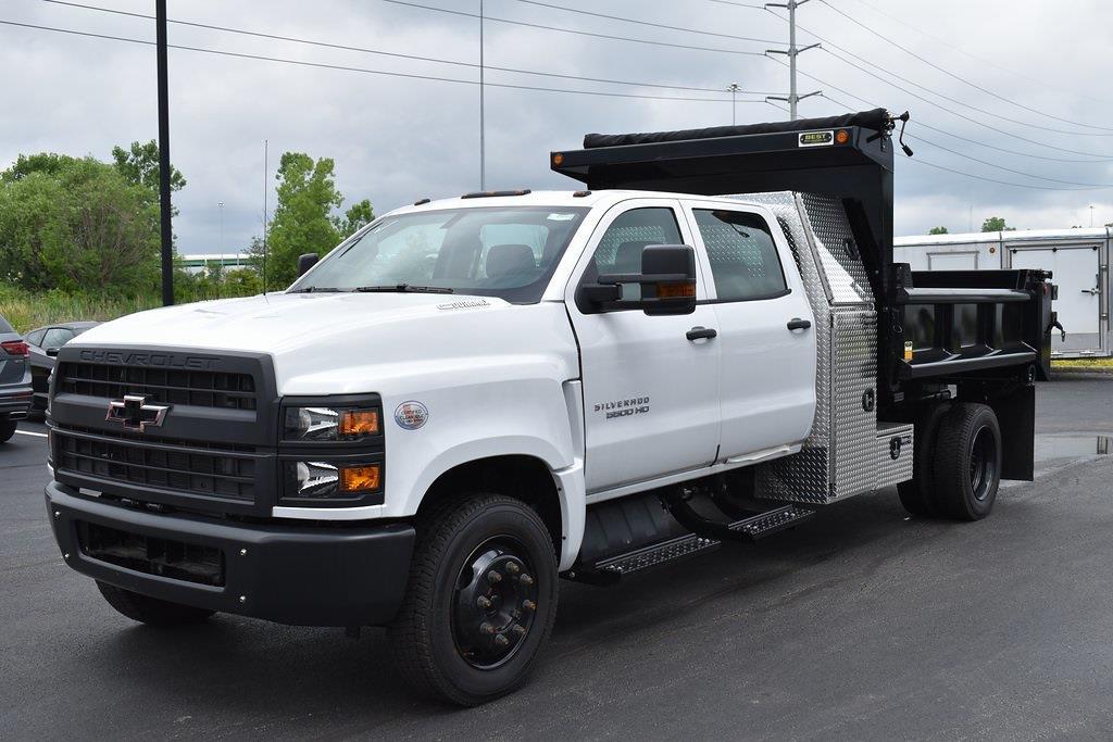 2020 Silverado 5500 Crew Cab DRW 4x2,  Galion Dump Body #T01042 - photo 1